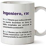 MUGFFINS Tazas Desayuno Originales de Profesiones para Regalar a Trabajadores Tazas para Ingenieros - Tazas con Frases y Mens