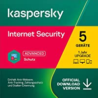 Kaspersky Internet Security 2021 Upgrade   5 Geräte   1 Jahr   Windows/Mac/Android   Aktivierungscode per Email