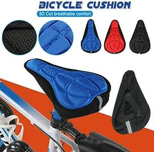 Fahrradsitzbezug Sunwan 3d Gel Soft Fahrradsattelkissen Indoor Cycling Für Männer Frauen Auto