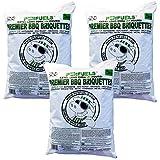 Premier barbacoa briquetas, extra largo 4+ horas de combustión: Valor unidades múltiples 5kg bolsas