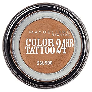 Maybelline Eye Studio Color Tatto 35 On And On Bronze - eye shadows (Brown, On And On Bronze, Shimmer, Italy)