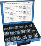 Dresselhaus Sortimente Blechschrauben DIN 7981 galvanisch verzinkt, 1 Stück, 0/4499/000/8532/06