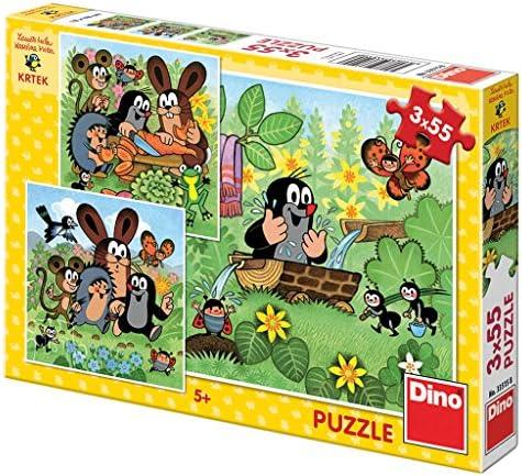 Dino Toys 335158 Puzzle Puzzle Puzzle de Haute qualité -  Petit Motif de Taupe - 3x55 pièces 70f64b