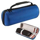 luckynv Hardcase Aufbewahrung schwarz Reisetasche für JBL Charge 3Bluetooth Wireless-Lautsprecher, blau