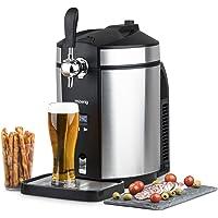 H.Koenig Tireuse à Bière BW1880 compatible avec les Fûts Universels non Pressurisés de 5L Inox, Machine, Pompe, Pression…