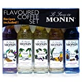 Monin - Speciality Coffee Syrup Set - 5 x 50ml