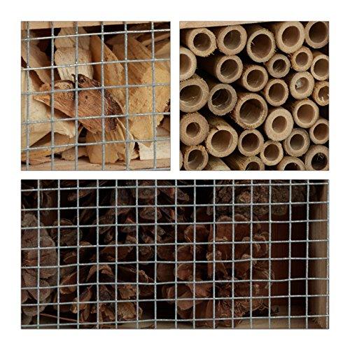 Füllmaterialien für ein Insektenhaus