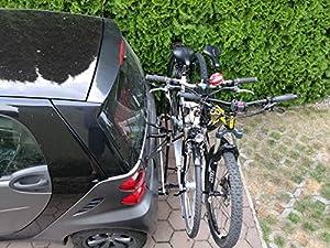 Fahrradträger Economy zwei Fahrräder smart fortwo 451 Coupe