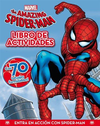 SPIDERMAN. LIBRO DE ACTIVIDADES CON TATUAJES