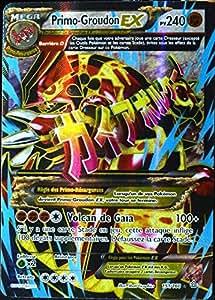Carte pok mon 151 160 primo groudon ex s rie xy primo - Carte pokemon a imprimer gratuitement ex ...