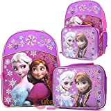 Disney Frozen Elsa & Anna Large 16 Backp...