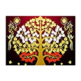 Rawuin DIY 5D Lucky Tree Diamond Embroidery Rhinestone Painting Cross Stitch Decor Gift (#914)