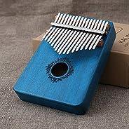 Piano de pulgar Carlimba de 17 tonos para principiantes Piano de pulgar como regalo para niños principiantes
