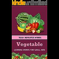 Vegetables : Learning words for kids