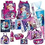 Disney Frozen EISKÖNIGIN 19 Teile Set Schulranzen RANZEN SCHULTÜTE Tornister Schultasche