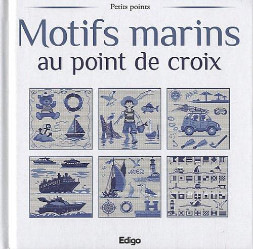 Motifs marins au point de croix