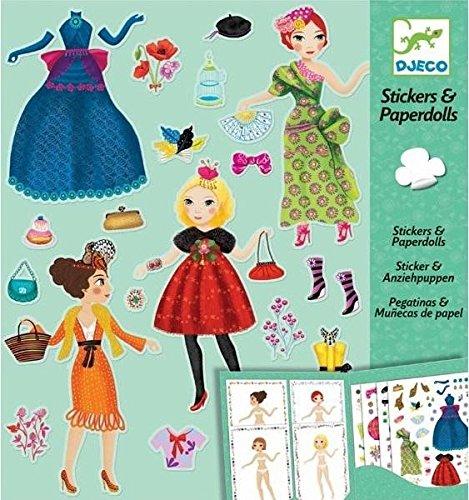 und Sticker Massive Fashion Papierpuppen ()