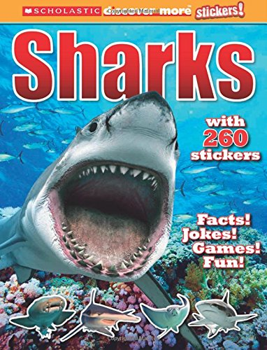 Sharks (Scholastic Discover More Stickers) (6 Fisch-sticks)