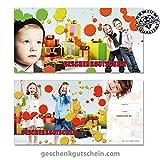 """10 Stk. Geschenkgutscheine """"DIN lang"""" für Kindermode, Bekleidung, Fashion FA9253"""