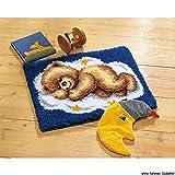 Vervaco PN-0014291 Knüpf Wandbehang 38012 Teddy
