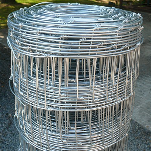 Wire Stock Fencing 0.8m x 50m C8/80/15 – Pig Lamb Sheep Dog Livestock Farm Paddock Boundary Fence