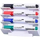 Legamaster 7-122000 Markerhouder voor whiteboards, magnetisch, wit