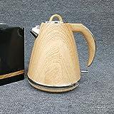 LFF 1.7L Hochwertiges Holz Wasserkocher Wasserkocher 304 Edelstahl 2000W,Wie Zeigen,Einheitsgröße