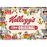 Nostalgic-Art Kelloggs The Original mini-sign/metal postcard 10 x 14 cm approx