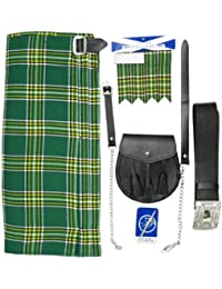 Tartanista - Ensemble kilt 5 pièces - kilt, sporran, épingle, ceinture, flashes
