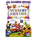 Nursery Rhymes (Set 1) Pack of 6 VCD
