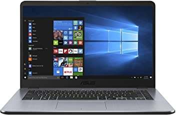 Asus F505BP 90NB0G02-M02600 39,6 cm (15,6 Zoll, Full-HD, matt) Notebook (AMD A9-9420, 8GB RAM, 256GB SSD, AMD R5 M420 (2 GB), Windows 10) grau