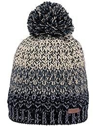 Barts Mens Lester Chunky Acrylic Polyester Winter Beanie Hat Green