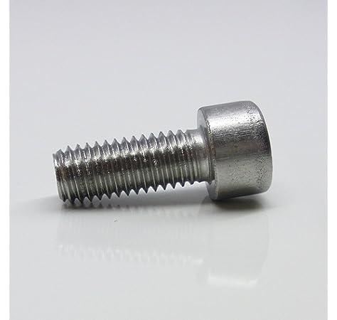M10x30 - aus rostfreiem Edelstahl A2 V2A Zylinderkopfschrauben - DIN 912 20 St/ück ISO 4762 SC912 - Vollgewinde Zylinderschrauben mit Innensechskant