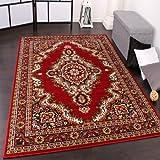 PHC Klassicher Orient Teppich Muster Red, Grösse:280x370 cm