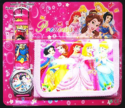 Happy Bargains Ltd Kinder-Armbanduhr + Geldbörse, Design