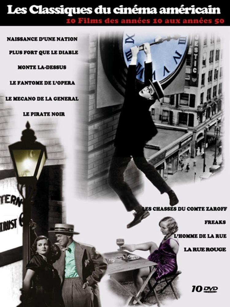 Coffret 10 DVD Les Classiques du cinéma américain des années 10 à 40 : Naissance d'une nation, Mont