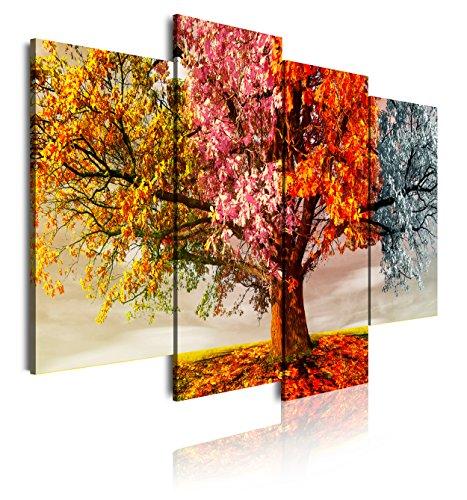 DekoArte 402 - Cuadro moderno lienzo 4 piezas