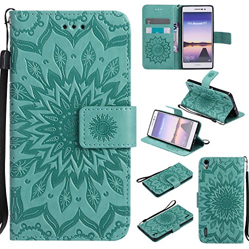 for-huawei-ascend-p7-case-greencozy-hut-wallet-case-magnetic-flip-book-style-cover-case-high-quality