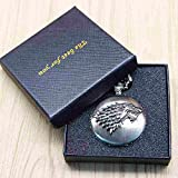 Montre Gousset The Best For You - Game of Thrones, maison Stark