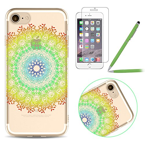 iPhone 6 Plus Silicone Case,iPhone 6S Plus Coque - Felfy Coque Souple Transparente Gel TPU Soft Silicone Case Motif Design Premium Ultra-Light Ultra-Mince Skin de Protection Anti-Choc Bumper Housse Ca #10