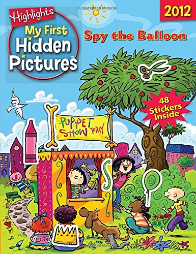 Spy the Balloon: My First Hidden Pictures 2012