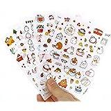 Falary Lot de 6 Lapin Stickers Bullet Journal Accessoires Gommettes Autocollants pour Scrapbooking Loisirs Creatifs Materiel