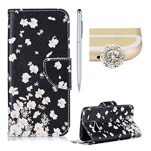 samsung-galaxy-s7-casesamsung-galaxy-s7-leather-wallet-caseskyxd-colorful-fashion-black-white-floral