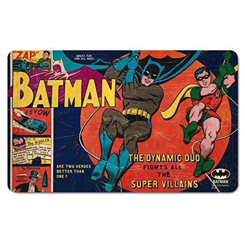 Batman tagliere-DC Comics-Il dinamico DUO-Tovaglietta americana-Design originale concesso su licenza-LOGOSHIRT