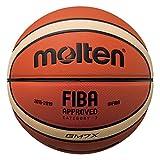 MOLTEN BGM - Balón de baloncesto oficial de la FIBA (diseño de 12 secciones)