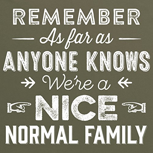 Nice Normal Family T-Shirt, Herren Olivgrn