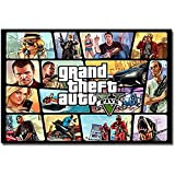 NATHALIE LANCASTER Lawrence Painting Grand Theft Auto V Video Game GTA 5 Art Canvas Poster Print Wall Pictures For Living Room 36