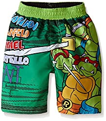 Teenage Mutant Ninja Turtles Little Boys Toddler Nickelodeon Swim Trunk