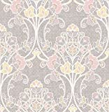 BHF sz001809'Kismet Wander Nouveau Floral'–Papel pintado para pared, color rosa