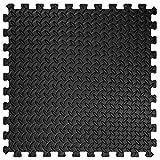 TecTake 12 x Bodenschutz Matte Schutzmatten Set Fitness Unterlegmatte EVA-Schaum | Maße pro Matte: ca. 63×63 cm - 5